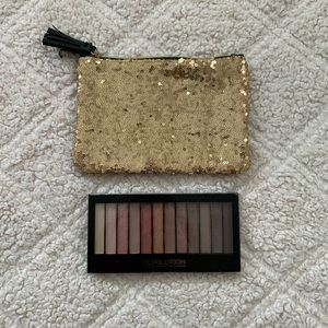 Ipsy Bag and Eyeshadow Palette Bundle